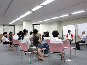 東京校受講の様子